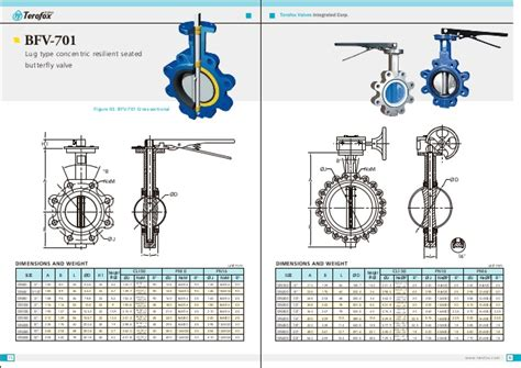 Terofox Api609 Resilient Seated Butterfly Valve (rev.00
