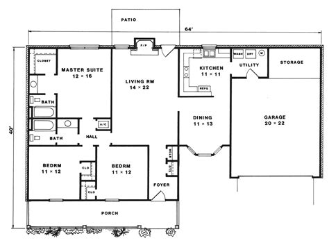 Highgrove House Floor Plan