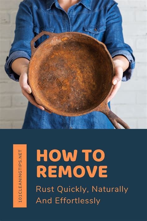 remove rust quickly naturally  effortlessly