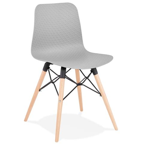 chaise design grise chaise scandinave tonic grise chaise design