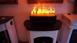 Elektrokamin 3d Wasserdampf : elektro holzfeuer e 2850 s 50cm breit mit 3d wasserdampf von garvens ~ Sanjose-hotels-ca.com Haus und Dekorationen