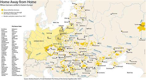 ethnic german communities  eastern europe