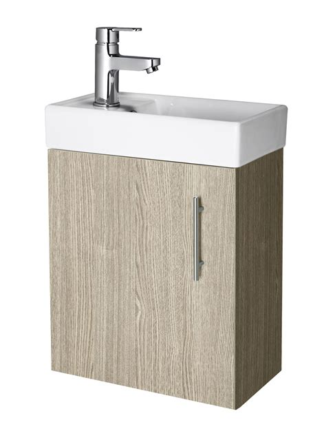 400mm Modern Bathroom Cloakroom Vanity Unit & Basin Sink