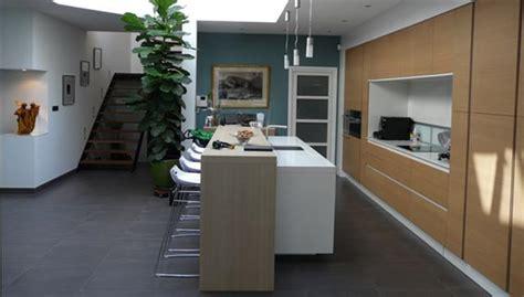 cuisine en longueur ouverte bar cuisine design bricolage maison et décoration