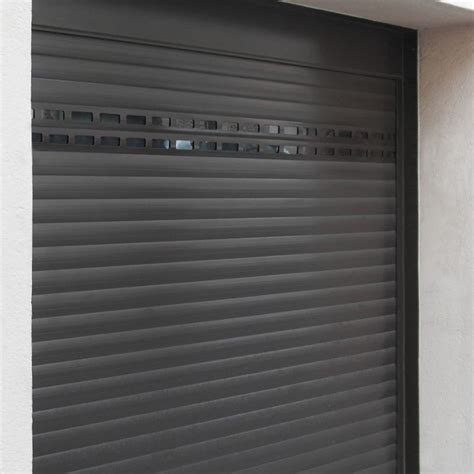 la toulousaine porte de garage enroulable porte de garage en aluminium sur mesure motoris 233 e enroulable
