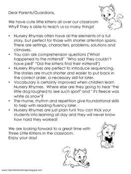 nursery rhyme   kittens   broken bootstraps