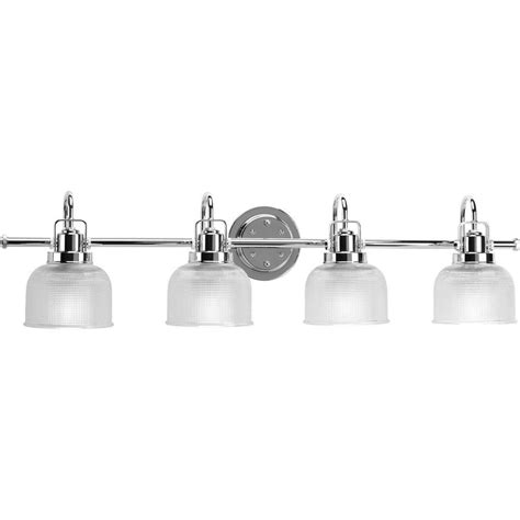 Bathroom Vanity Light Fixtures Chrome by Progress Lighting Archie Collection 35 5 In 4 Light