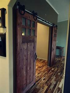 sophisticated double barn doors interior with glass top With best place to buy barn doors
