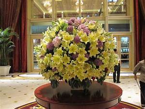Large Floral Arrangements And Hotel Lobby On Pinterest