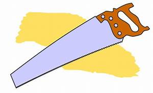 Clip Art Drawing of a Hand Saw - ClipArt Best - ClipArt Best