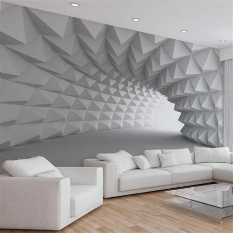 Grey 3d Wallpaper grey color abstract 3d interior wallpaper rs 75 square