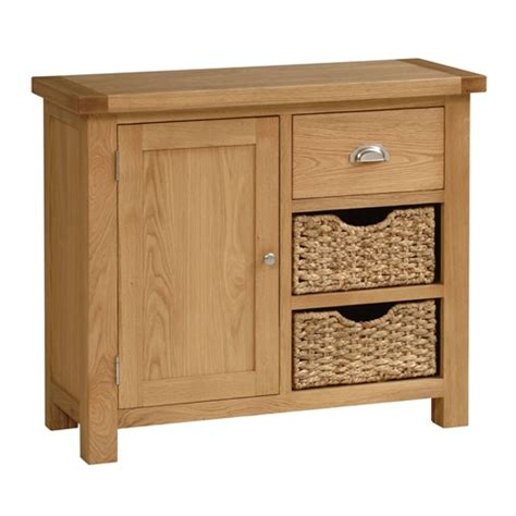 Sideboards With Baskets by Galway Oak Small Sideboard With Baskets X103 With Free