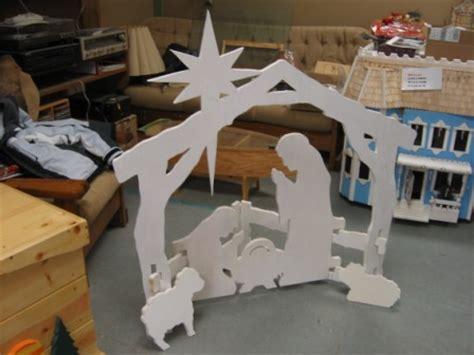 wood works  cedar springs nativity scenes