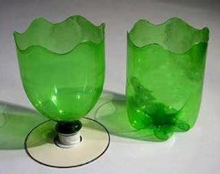 membuat pot bunga cantik botol plastik