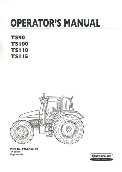 holland tractor ts ts ts ts operators manual