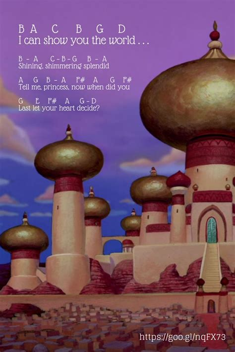 A Whole New World Aladdin (Disney Disney sheet music