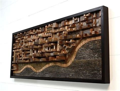reclaimed wood wall art google search home office