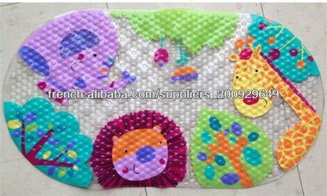 pvc imprim 233 antid 233 rapant enfants tapis bain tapis de salle