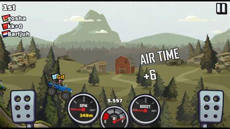 hill climb racing monster truck hill climb racing 2 green cup full tuned monster truck