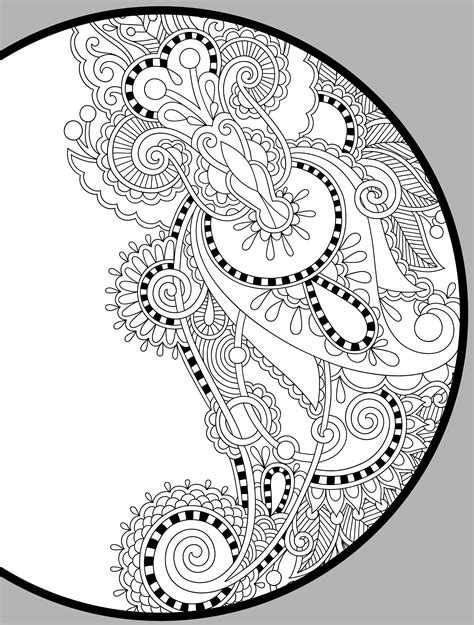 free coloring pages for adults free printable coloring pages for adults pdf the color panda 6594