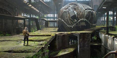 abandoned environment concept tutorial  maciejkuciara