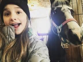 Annie LeBlanc Presshandstands Instagram