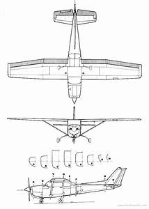 Drawn Airplane Cessna 172