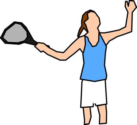 girl tennis player clip art  clkercom vector clip art  royalty  public domain