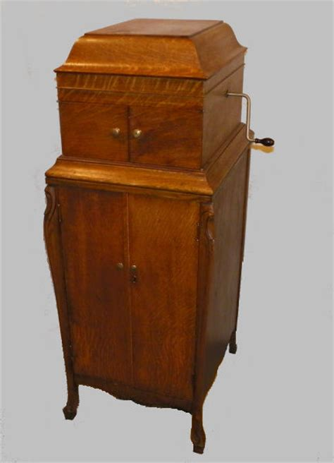 kitchen cabinets in nj bargain s antiques antique victor phonograph player 1890