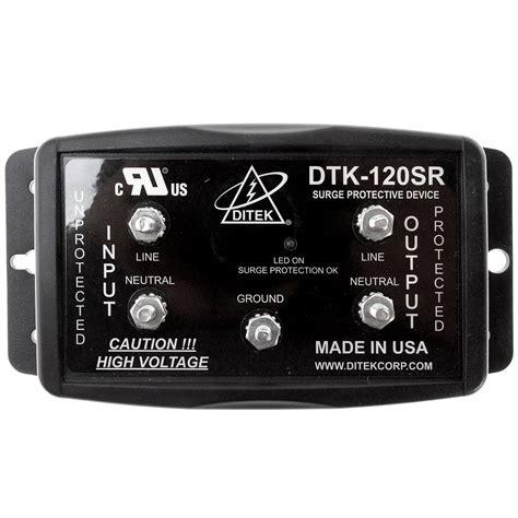 Ditek DTK-120SR 120VAC 54Ka Series Connected Surge ...