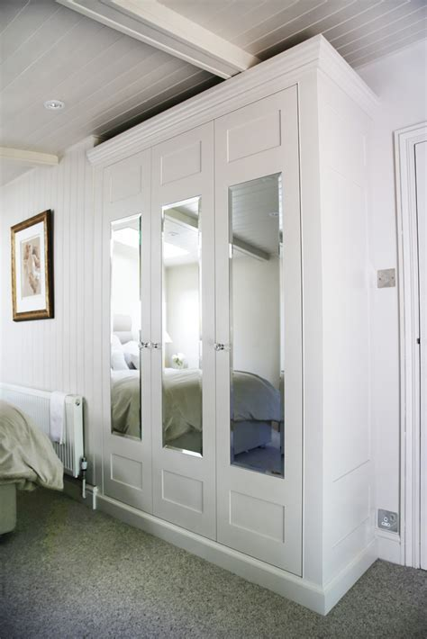 Mirrored Wardrobe by Traditional Fitted Mirrored Wardrobe Bespoke Furniture