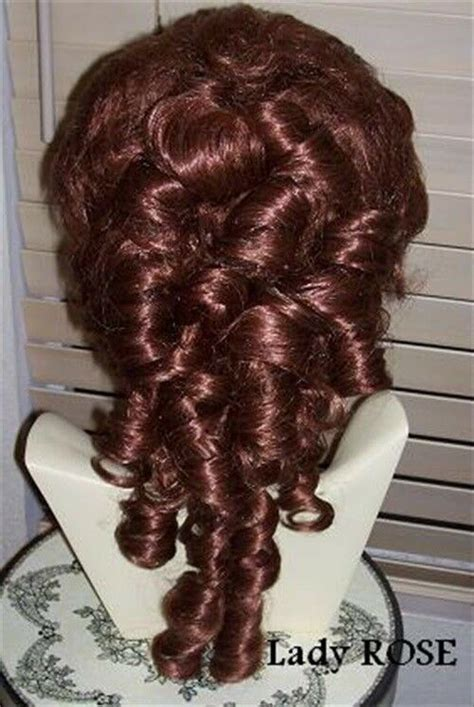 victorian style wig sass theater style  color choice ebay