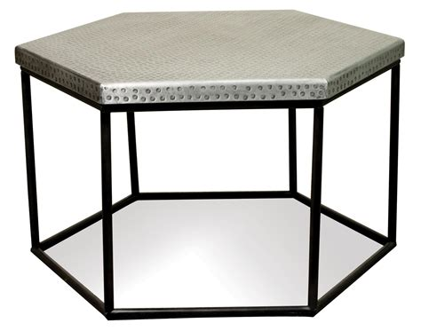 Hammered Metal Hexagon Coffee Table By Riverside Furniture Farmhouse Style Coffee Table Set Braun Automatic Maker Nestle Mate Liquid Uk Juan Valdez Instant Calories White Pottery Barn Gray Chocolate