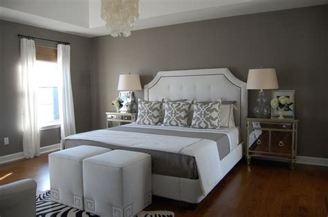 Modern Grey And White Bedrooms