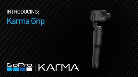 gopro introducing karma grip youtube