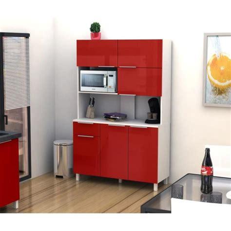 buffet cuisine design lova buffet de cuisine 120 cm haute brillance