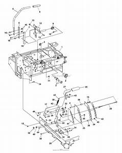 Bunton  Bobcat  Ryan 942231a  72 Side Discharge Parts Diagram For Steering