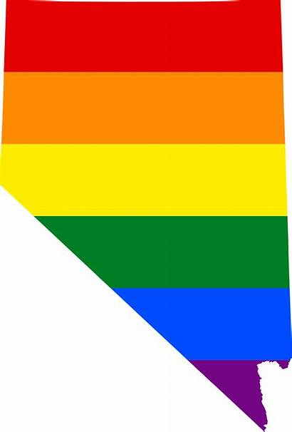 Nevada Svg Flag Lgbt Map Rights Commons