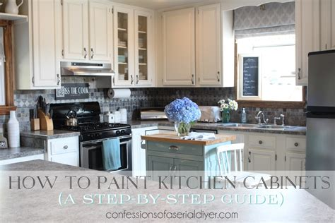 how to paint unfinished cabinets how to paint kitchen cabinets a step by step guide