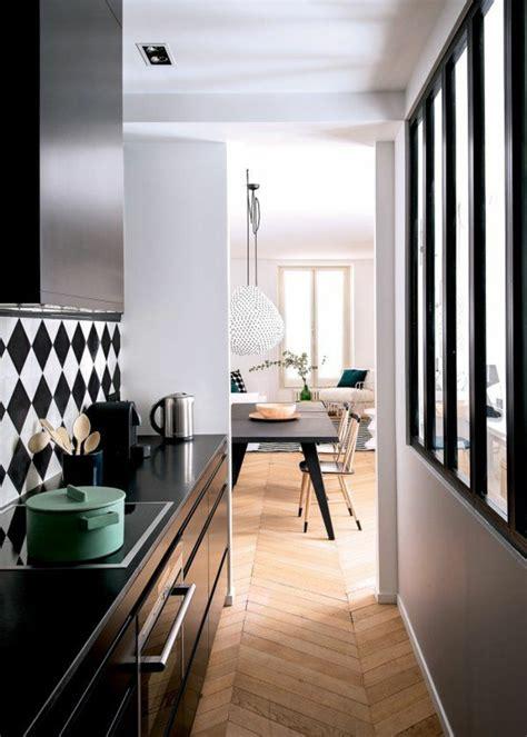 carrelage noir et blanc cuisine vous cherchez des id 233 es pour un carrelage noir et blanc