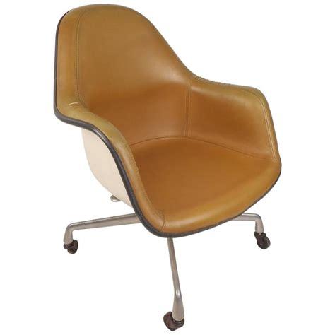 mid century modern herman miller shell desk chair for sale