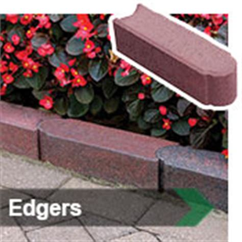 menards patio block edging landscaping materials at menards