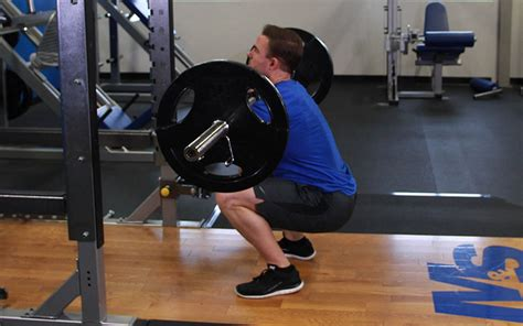 narrow stance front squat video exercise guide tips