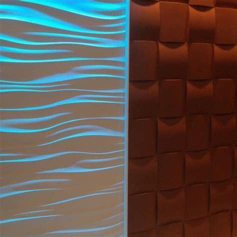 wall tiles wave wall  led lighting woven wall