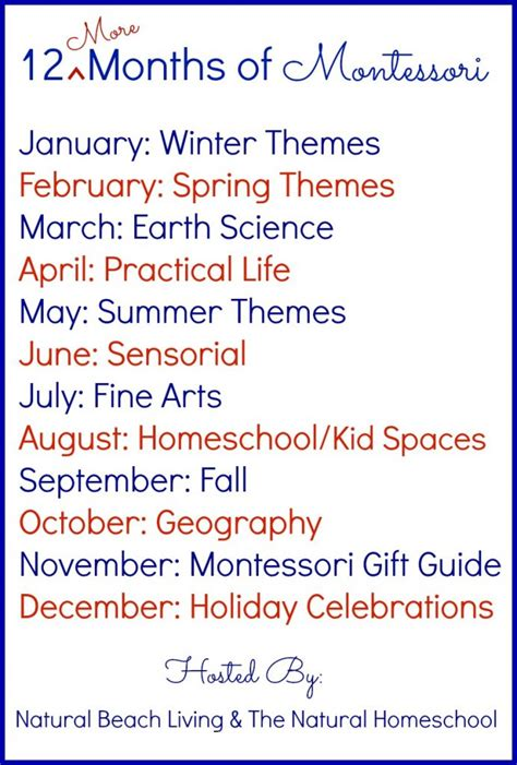 12 more months of montessori monthly themes 828 | 12 months of Montessori education More Pin 1 692x1024