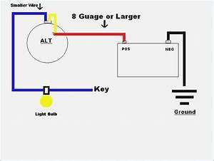 gm one wire alternator wiring diagram moesappaloosascom With one wire alternator diagram