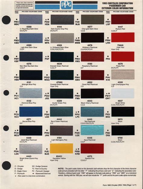 1985 dodge truck paint colors paint color ideas