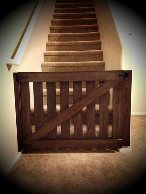 diy baby gate barndoor babygate  creations