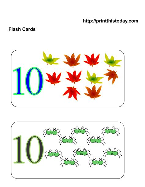 Free Printable Number Flashcards With Dots  Free Pecs Picture Cards Wordsofhisheart8 Best