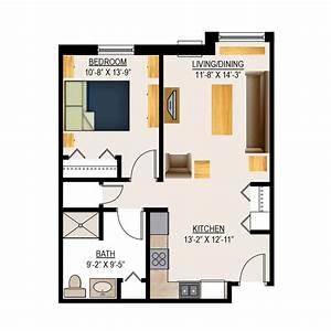 Retirement Home Floor Plans  Assisted Living Floor Plans